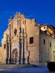 Santuario Caravaca de la Cruz. Murcia. Spain Notre Dame, Places Ive Been, Spain, Mansions, Architecture, House Styles, Building, Travel, Cartagena