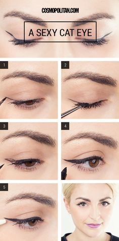 Makeup Tutorial: How To Create a Perfect Cat Eye Every Single Time