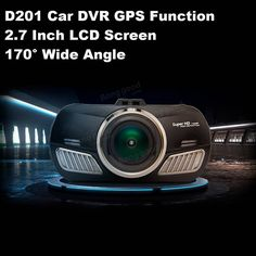 Dome D201-1 Camera Car DVR Recorder With GPS Function 2.7 Inch LCD Screen 170° Wide Angle Sale - Banggood.com