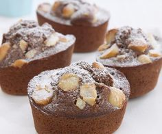 The best Chocolate and macadamia friands recipe you will ever find. Welcome to RecipesPlus, your premier destination for delicious and dreamy food inspiration. Apple Recipes, Baking Recipes, Sweet Recipes, Weekly Recipes, Gf Recipes, Tea Cakes, Cupcake Cakes, Book Cakes, Cake Cookies