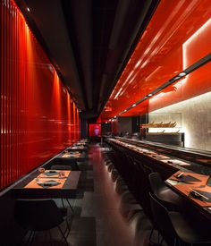 Image 4 of 17 from gallery of Zen Sushi Restaurant / Carlo Berarducci Architecture. Photograph by Fernando Guerra | FG+SG