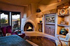 adelaparvu.com despre casa rustica in desert SUA, Wickenburg client residence, interior design Bess Jones Interiors (14)