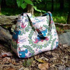 Ethel Tote Bag - Swoon Sewing Patterns