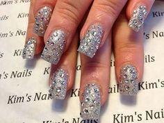 My sparkle nails