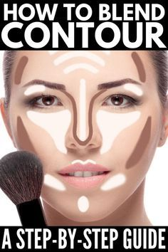 How To Blend Contouring, How To Contour Your Face, Best Contouring Products, Contouring And Highlighting, How To Apply Makeup, Long Face Contour, Face Contouring Tutorial, Where To Contour, Face Contouring Makeup