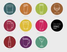 Polygon Drinks by Erik González