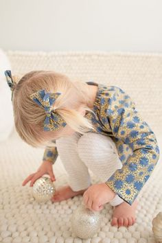 Matching bows and blouse <3