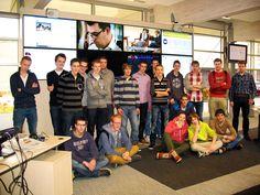Zou ICT nou echt een mannending zijn? Eerstejaarsstudenten van het Hoornbeeck College waren vrijdagmorgen op bezoek bij het RD. Natuurlijk namen ze even een kijkje in onze moderne newsroom.
