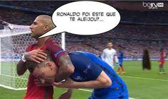 A final do Euro 2016 e os vários momentos do jogo entre Portugal e França serviram de inspiração aos internautas