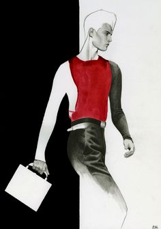 Richard Kilroy Fashion Illustrations