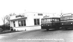 Bus Station - Michigan & Laura - Circa 1950's