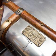 Timothy Oulton Globetrekker End Of Bed Trunk - Aero #TimothyOulton