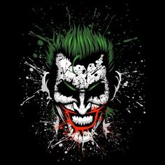 killer joke by Albertocubatas - Get Free Worldwide Shipping! This neat design is available on comfy T-shirt (including oversized shirts up to ladies fit and kids shirts), sweatshirts, hoodies, phone cases, and more. Free worldwide shipping available. Joker Iphone Wallpaper, Joker Wallpapers, 1080p Wallpaper, Joker Images, Joker Pics, Joker Comic, Joker Art, Foto Joker, Heath Ledger Joker