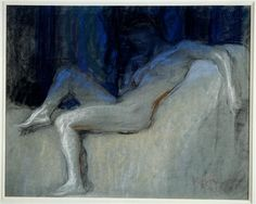 Frantisek Kupka - Etude pour Plans par couleurs, grand nu, 1906