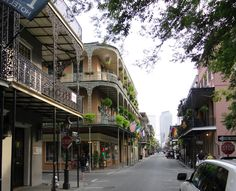 New Orleans French Quarters are an architectural marvel. You will certainly not notice the unique character of these balconies during Mardi Gras or some busy day. Each and everyone has their own design and character, all setting New Orleans apart from any other US cities in this regard.