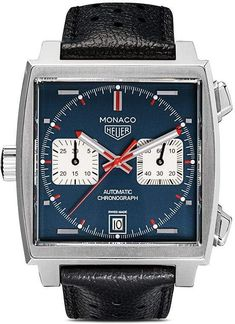Tag Heuer Monaco Calibre 11 can find Tag heuer and more on our website. Tag Heuer Monaco, Tag Heuer Formula, Versace Men, Seiko Watches, Tag Watches, Luxury Watches For Men, Beautiful Watches, Unisex, Cool Watches