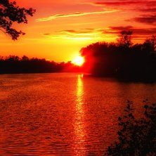 fire sky and water