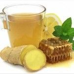 Spicy Honey Tea 1 tbsp honey tsp ground ginger tsp ground cinnamon tsp cayenne pepper Mix all ingredients together in a cup and mix with hot water. It is especially beneficial right before bedtime. Sore Throat Tea, Sore Throat Remedies, Herbal Remedies, Cold Remedies, Honey Benefits, Tea Benefits, Health Benefits, Ayurveda, Honey Facts