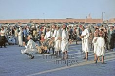 Markt in Marrakesch, 1969 Raigro/Timeline Images Street View, Historical Pictures, Marrakech, Old Pictures, Morocco, Photographers