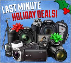 There's still time to save! Get great deals on these camera bundles featuring the Nikon Coolpix P600, Canon PowerShot SX520 HS, Sony Action Cam Mini, Panasonic Lumix DMC-FZ200, plus more!  http://www.cameta.com/exclusive-deals.cfm