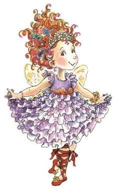 Fancy Nancy costume ideas and picture from the books