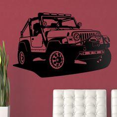 Jeep Wrangler - VINILOS DECORATIVOS #teleadhesivo #decoracion #jeep