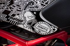 hmmmmmm, Ducati's ... Sharpie Monster