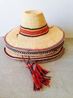 straw sun hat | made in ghana