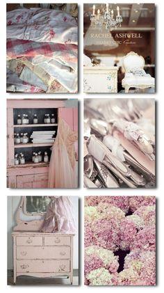 Rachel Ashwell's Shabby Chic, Rachel Ashwell, White Decorating, Shabby Chic Decorating, Distressed Furniture, Cottage Style, Flea Markets