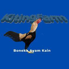 Boneka ayam alat latih ayam anda,terbuat dari bahan kain dan bulu Rooster, Dan, Roosters, Kai