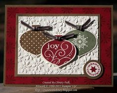 More Easy Christmas Cards by StampinChristy - Cards and Paper Crafts at Splitcoaststampers