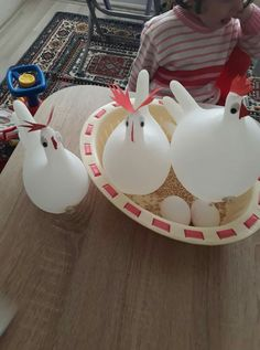 Easter Crafts for Kids which are surely gonna be a hit Farm Animals Preschool, Farm Animal Crafts, Farm Crafts, Preschool At Home, Farm Activities, Animal Activities, Farm Unit, Farm Birthday, Farm Party