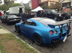 Tuned Nissan GT-R in new The Fast & The Furious 6 movie