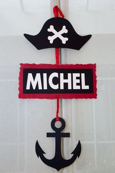 Pirate Party Decoration - welcome sign Deco Pirate, Pirate Day, Pirate Birthday, Pirate Theme, Decoration Pirate, Pirate Party Decorations, Birthday Decorations, Pirate Crafts, Nautical Party
