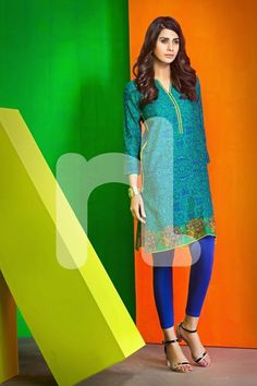 Nishat Linen Chic Pret Summer Collection 2016-4