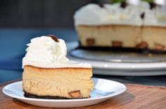 Mini Reece's Peanut Butter Cup Cheesecake from ButterYum