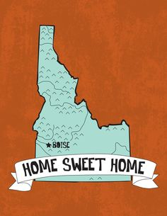 Home sweet home....in a few months anyways and until the military moves us. I love idaho though