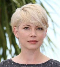 michelle williams short hair ile ilgili görsel sonucu