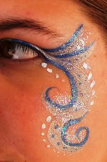 Teen single eye designs. - Page 1 facepaint face painting paint