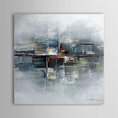olieverfschilderij abstract 1304-ab0486 met de hand beschilderd doek - EUR € 47.49