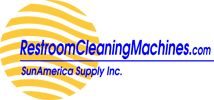 Restroom Cleaning Machines logo