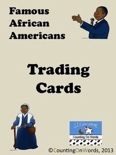 Black History Month: Famous African American Trading Cards