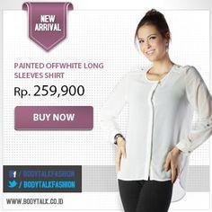 Dapatkan cash back Rp 100.000.+ free ongkir tiap belanja min. Rp 500.000. Yuk order shirt ini di: www.bodytalk.co.id