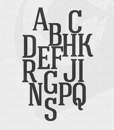 Hagin Free Font by Fontfabric , via Behance