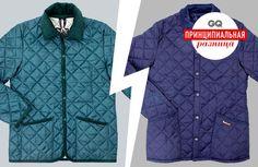 Принципиальная разница между стегаными куртками Barbour и Lavenham