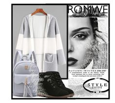 """""""ROMWE 3/VIII"""" by saaraa-21 ❤ liked on Polyvore featuring romwe"""