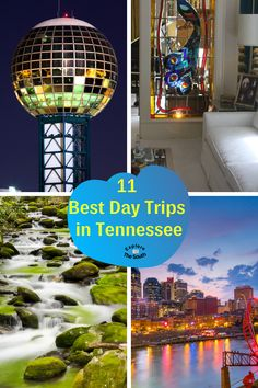 11 Places to take a Day Trip in Tennessee. Family and kid friendly day trip ideas to take in Tennessee. We included east, west and middle Tennesse places to visit. Lots of culture, history food and entertainment. #explorethesouth #visittn #madeintn Weekend Trips, Day Trips, Travel Usa, Travel Tips, North Carolina Lighthouses, Visit Tennessee, Virginia History, Romantic Weekend Getaways, Best Family Vacations