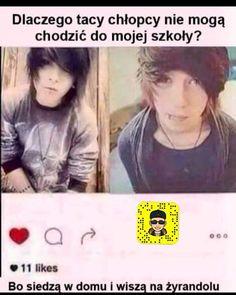 """Polubienia: 2,658, komentarze: 61 – Czarny humor (@czarny_humorek.pl) na Instagramie: """"Możesz zaobserwować konto prywatne @_pavvcio ! . . . #czarnyhumor #memy #śmieszne #beka #funy…"""" Polish Memes, Very Funny Memes, Dead Memes, Everything And Nothing, Quotations, Haha, Like4like, Funny Pictures, Jokes"""
