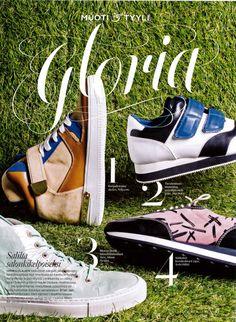 Gloria, January 2015 Shoe Image, January, Couture, Sneakers, Shoes, Fashion, Tennis, Moda, Haute Couture