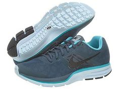 Nike Air Pegasus+ 30 Shield Mens 616242-404 Blue Athletic Running Shoes Size 11
